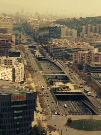 Renaissance Barcelona Fira Hotel: Europa Fira View