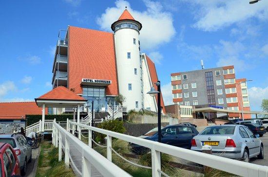 Hotel Noordzee: Aussenansicht