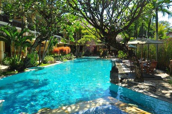 Mutiara Bali Boutique Resort & Villas: Pool and garden