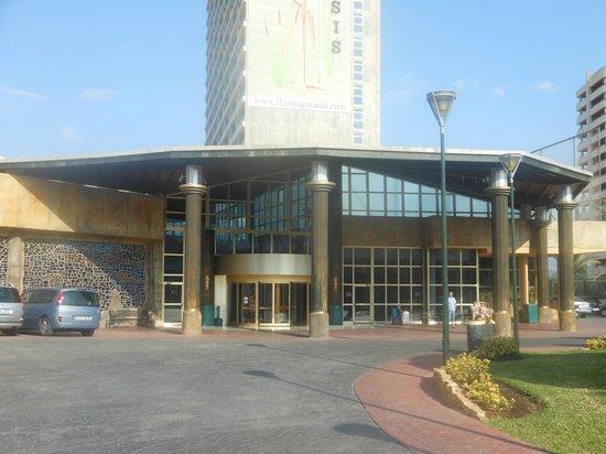 Hotel Flamingo Oasis: Entrada hotel