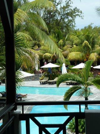 Emeraude Beach Attitude : Vue de notre balcon