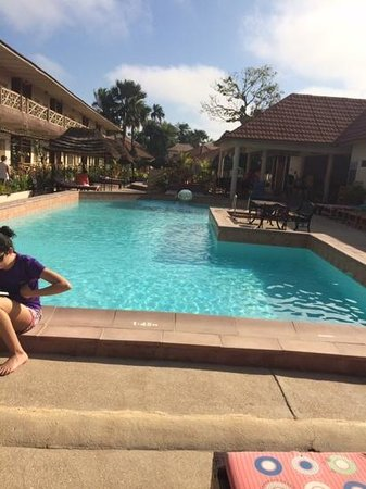 Bamboo Garden Hotel: By the pool