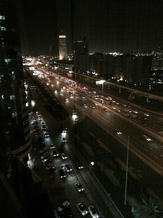Crowne Plaza Dubai: View from the Room