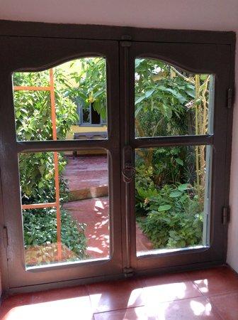 Dar Beldi : Vue de notre chambre sur le jardin