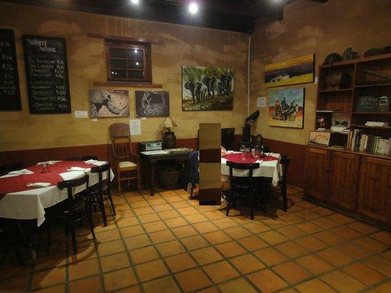 De Vagebond Restaurant: Rustikaler Gastraum