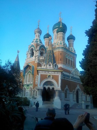 St Nicholas Orthodox Cathedral, Nice: русская земля уже второй век