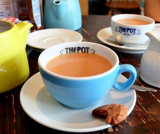 The Pot: Pots of loose leaf tea