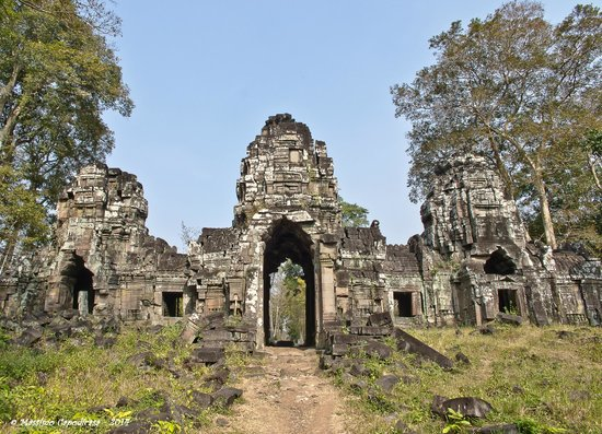 Preah Vihear Province, Καμπότζη: Preah Khan - main entrance
