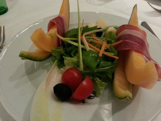 Casa Restaurant: Prosciutto & melon