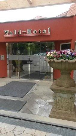 Waldhotel Stuttgart : eingang
