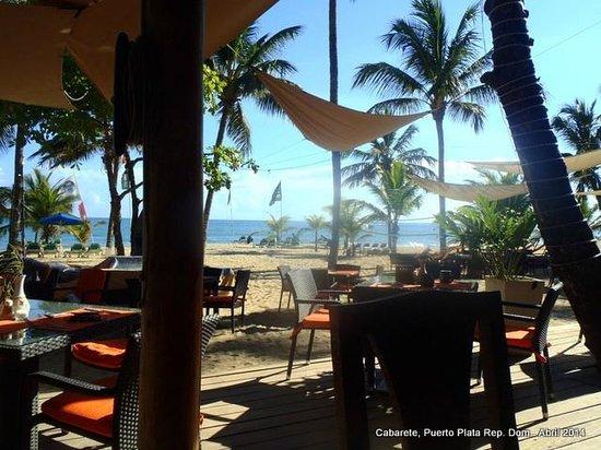 Hotel Villa Taina: Vista desde el restaurante