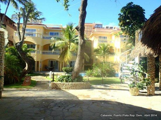 Hotel Villa Taina: Vista del Patio