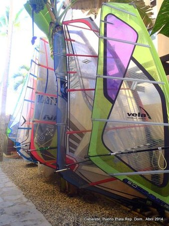 Hotel Villa Taina: Windsurf