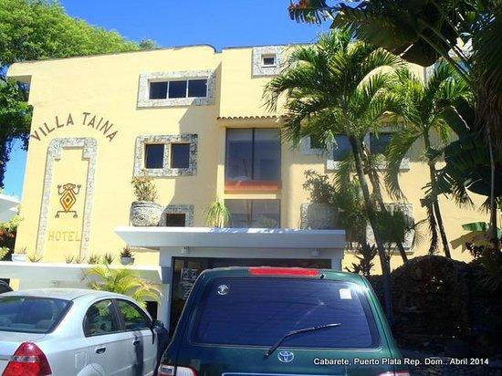 Hotel Villa Taina: Fachada