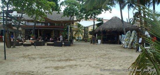 Hotel Villa Taina: Vista del restaurante y bar