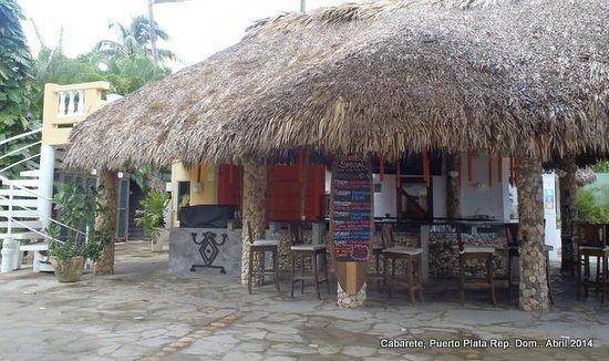 Hotel Villa Taina: Vista del Bar