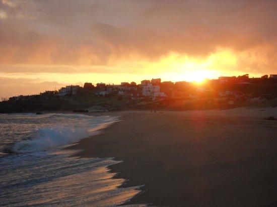 Dunas del Este: la playa al atardecer