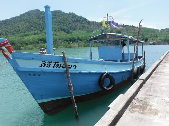 Amazing Bike Tours : local fishing boat