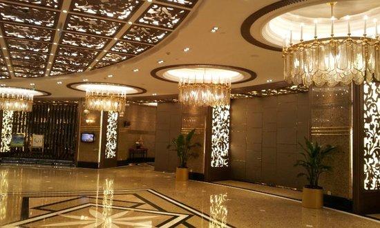 Central Hotel Shanghai: La hall in tutto il suo splendore