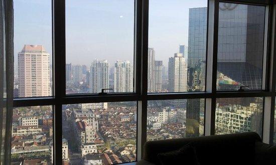 Central Hotel Shanghai: Vista magnifica sulla città
