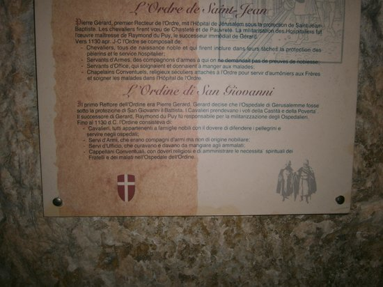 The Knights Hospitallers: storia dell infermeria