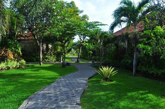 Adi Assri Beach Resort & Spa Pemuteran: Hotel Garden