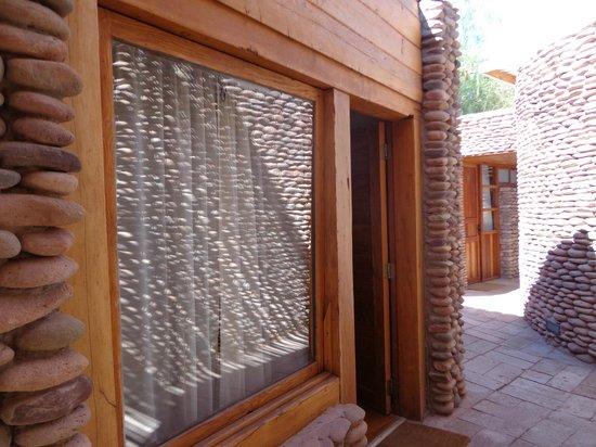 Lodge Andino Terrantai : Entrada de la habitación
