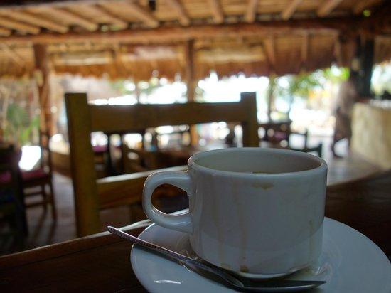 Ahau Tulum : Coffee + Ahau eggs + eggs= love