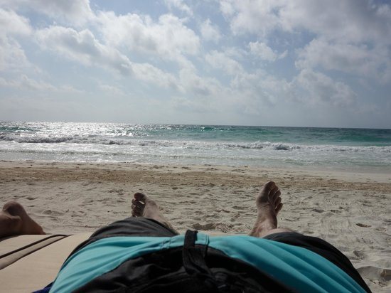 Ahau Tulum : Morning beach realness.