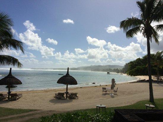 Shanti Maurice Resort & Spa: Stunning view from Stars at breakfast