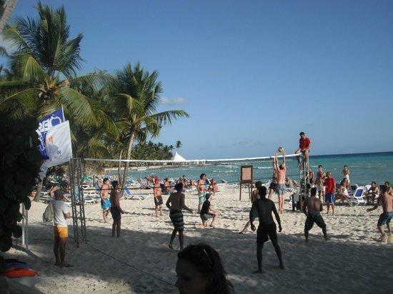 Viva Wyndham Dominicus Beach : partita di volley