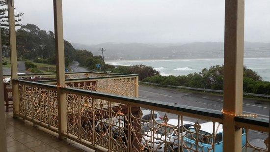 Grand Pacific Hotel Lorne : ocean facing view