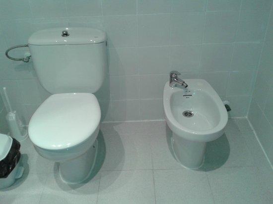 Apartamentos Torrelaguna: baño