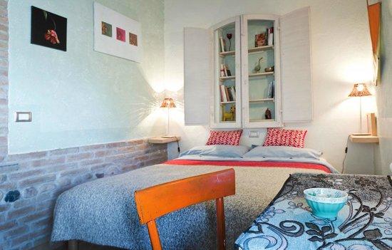Ca' Barbona: la camera blu