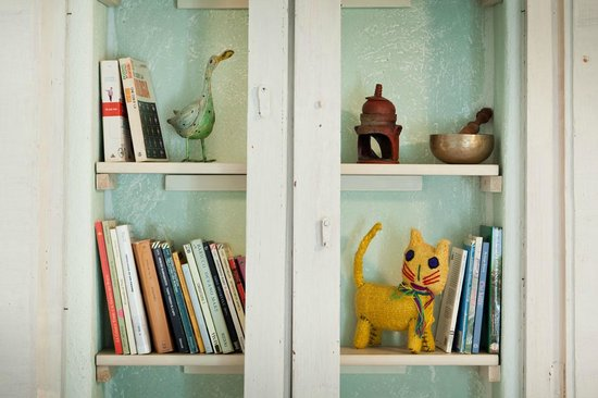 Ca' Barbona: libreria in camera