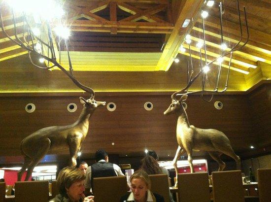 Club Med Valmorel : Décoration de la salle à manger