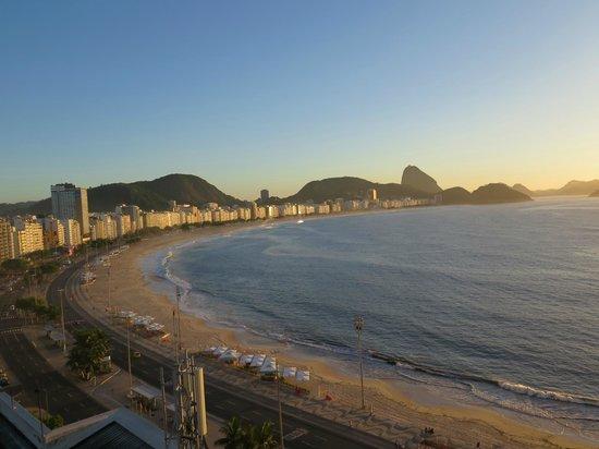 Orla Copacabana Hotel: daytime
