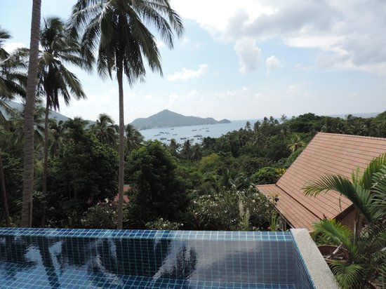 Koh Tao Heights Boutique Villas: the view from the villa