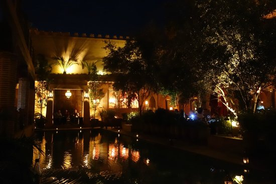 La Maison Arabe : magical dining at night