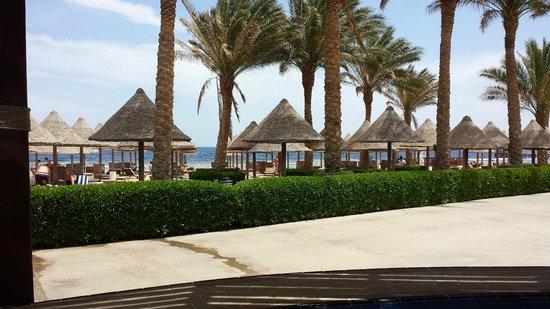 Sharm Grand Plaza: beach area