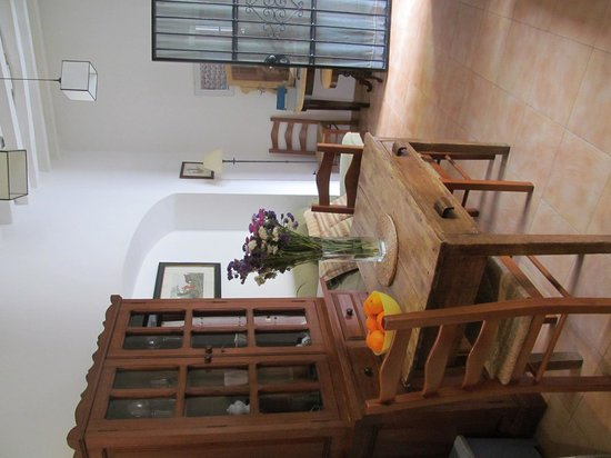 Pension San Miguel: Dining and sitting room