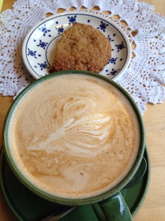 C is for Cookie: Latte + cookie a l'avoine
