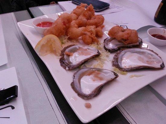 Oyster & Sushi Bar Bota : Fried shrimps