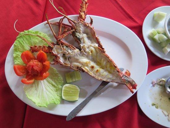 Best Friend Restaurant : Grilled Lobster