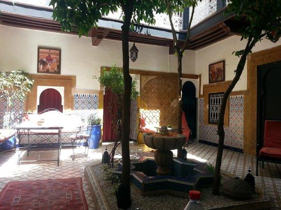 Riad Dar Tamlil : The courtyard