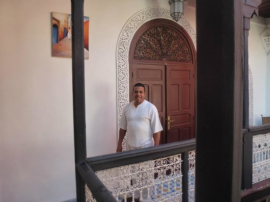 Riad Dar Tamlil: Our fabulous host