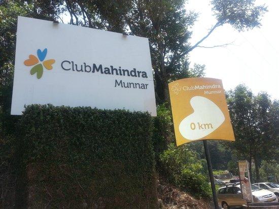 Club Mahindra Munnar: ENTERANCE
