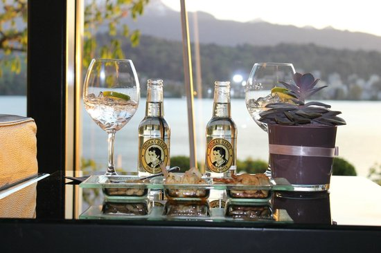 Seehotel Hermitage Luzern: $16 gin and tonic, anyone?