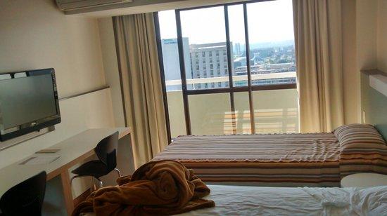 St Paul Plaza Hotel: foto do quarto c vista
