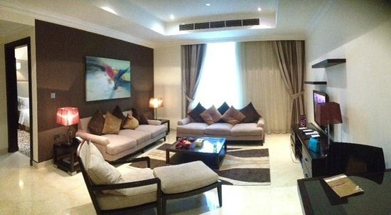 Aparthotel Adagio Premium West Bay Doha: الصاله